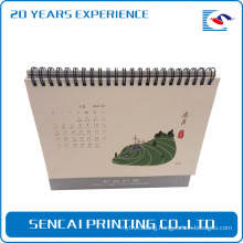 Best price customized factory supply triangle rectangle desk calendar