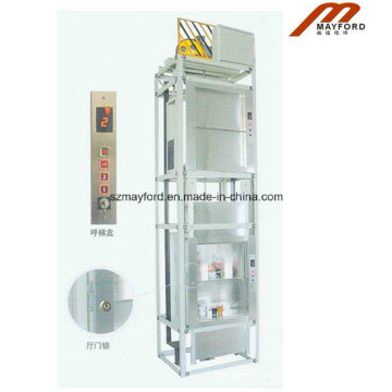 Little Space Dumbwaiter Elevator with Hairless Stainless Steel