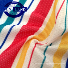 polyester knit birdeye cooling mesh fabric for polo