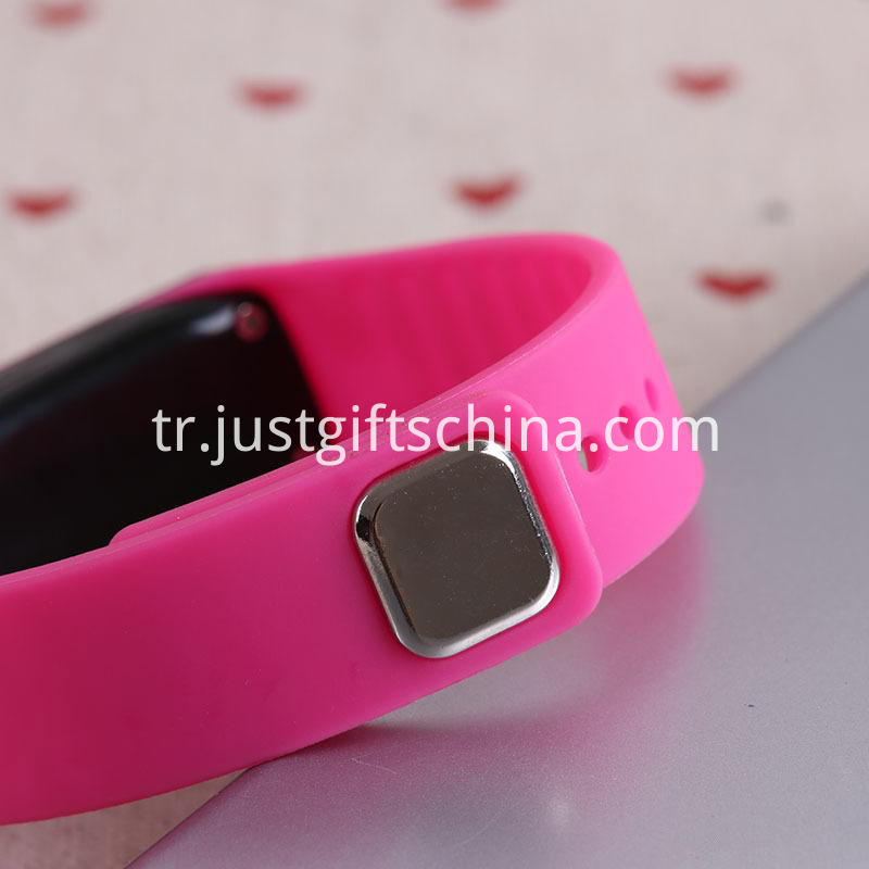 Promotional Silicone Led Waterproof Watch_3