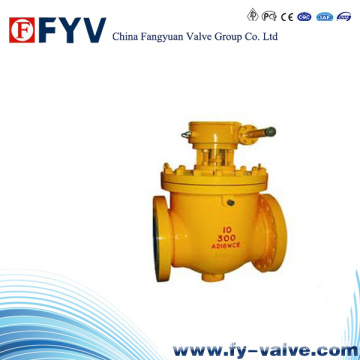 API6d Top Entry Ball Valve with Gear Operation