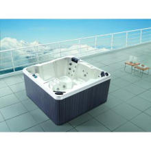 Chinese Jacuzzi outdoor whirlpool SPA for 6 person on Sales