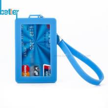 Porte-carte de crédit en silicone personnalisé