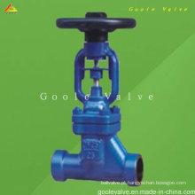 Válvula de globo forjada DIN do selo do fole (GAwj61h)