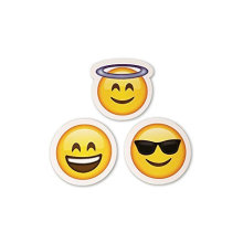 Emoji Stickers Same Happy Faces Kids Stickers from iPhone Facebook Twitter Emoticon Stickers Assortment Pack