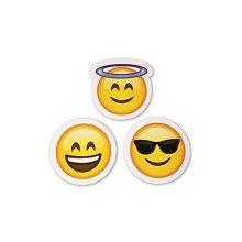 Etiquetas Emoji As mesmas etiquetas de rostos felizes para crianças do iPhone Facebook Twitter Etiquetas de Emoticon Pacote de sortidas