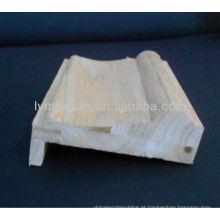 moldagem de coroa de espuma de madeira projetada