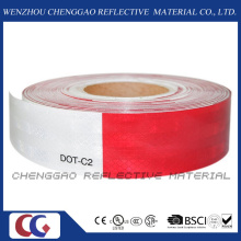 Red and White DOT-C2 Clear Reflective Tape for Traffic Sign (C5700-B(D))