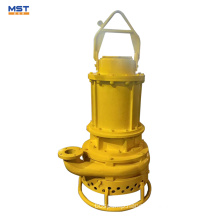 Electric submersible dredge sand river suction pump