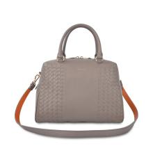 Mid Century Handbag Structured Top Handle Kelly Bag