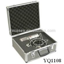 portable en aluminium sécurité équipement cas avec mousse personnalisé introduire