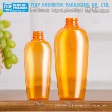 TB-VA série 120ml et 250ml de belle cou universel coloré taille haute qualité hot-vente ovale bouteille pet soufflant