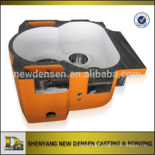 OEM alloy steel sand casting gearbox housing for top drive
