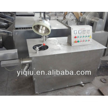 Dry mixing wet mixing granulator machine