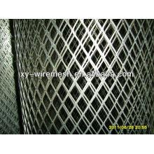 Grille de grille en diamant galvanisé, panneaux de treillis métallique dur à vendre