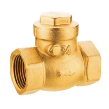 Латунный обратный клапан, J5004 латунный обратный клапан pn16, низкая цена с хорошим качеством