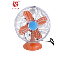 Ventilateur de table en métal électrique luxueux pour industriel avec fort vent