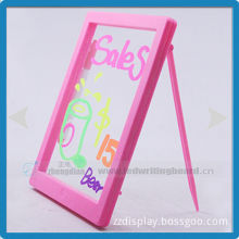 Best selling acrylic panel with 1mm thickness message board electronic led writing drawing board educational toys for kids