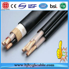 Cables blindados de 1KV 4x50mm2 XLPE Cables blindados de conductor de cobre