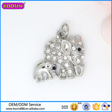 Wholesale Zinc Alloy Jewelry Charm Elephant Charm