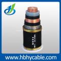 Mittelspannung XLPE / PVC Jacke Stahlband Gepanzertes Netzkabel
