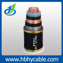 Câble électrique de cuivre de 185mm2, câble électrique de 0.6 / 1kv