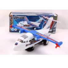 2013 top selling flashing musical flying toy plane