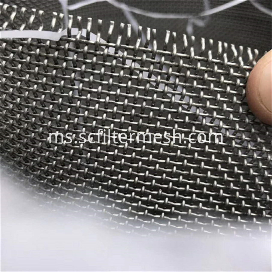 316 L Stainless Steel Mesh Screen