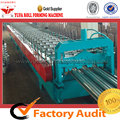 High-end Steel Floor Deck Forming Machine Untuk Bangunan Struktural Logam