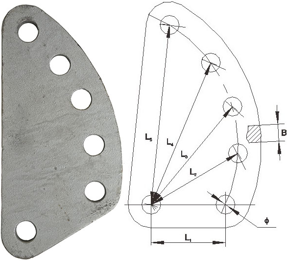DB Adjusting Plate