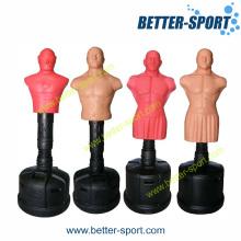 Homem de boxe, homem de boxe em pé, saco de boxe