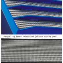 Cadre de support renforcé de particules filtrantes Panneau d'écran Johnson