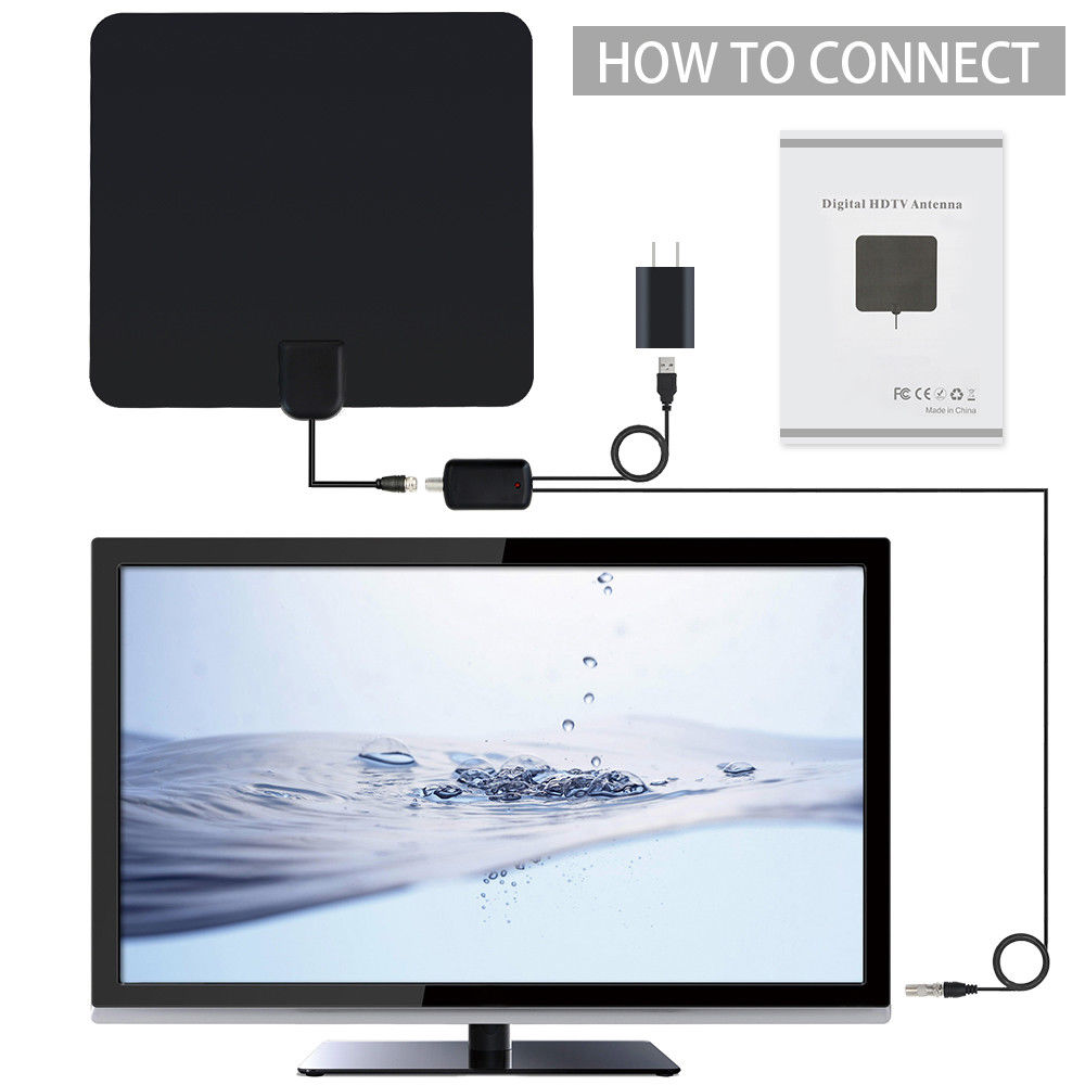 Wireless tv antenna indoor digital