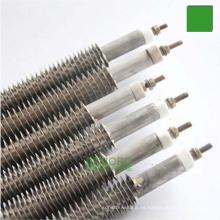 Elemento de calentamiento tubular personalizado Calefactor con aletas de aire