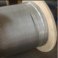 Конструкция кабеля из нержавеющей стали 1/16 AISI304 7x7 нитей