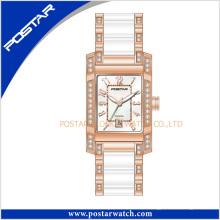 Reloj de cerámica de diseño nuevo estilo para damas