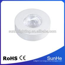 China suministrador joyería vitrinas luces led cálido blanco llevó gabinete lámparas profesional de iluminación interior