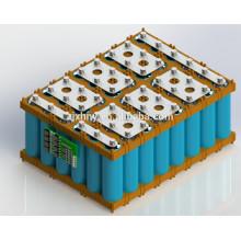 Pack de batteries solaires LiFePO4 lithium ion 48V 50Ah