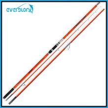 Attache de pêche orange à 3 sections
