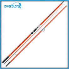 3 Section Orange Color Surf Rod Fishing Tackle