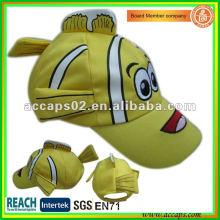 Children baseball cap fish BC-0199
