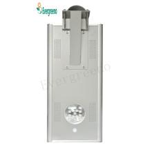 Lámpara solar de calle LED, luz de jardín solar integrada de la luz de calle
