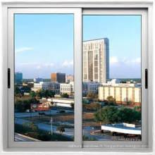 Fenêtre coulissante en aluminium à double vitrage à coupure thermique