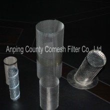 Stainless Steel Wire Mesh Micron Filter Cylinder