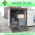 85%-95% Output 10T Desulfurization Crude Oil To Diesel Machine With SGS