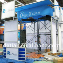 exhibition fair stand, exhibition equipment display stands, 3d exhibition booth portable