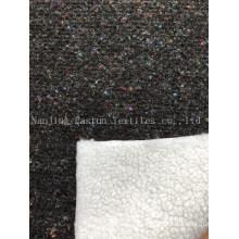Knitted Bonded Lamb Hair Esfh-1035-3