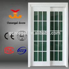 Номер дома меламина MDF деревянные раздвижные двери