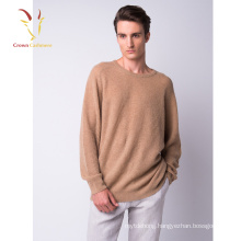 Mens Custom Rib knitted Cashmere Sweater Pullover