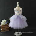 Hochwertige Bekleidungsfabrik Moderne Exquisite Verarbeitung Baby Mädchen Einhorn Kleid